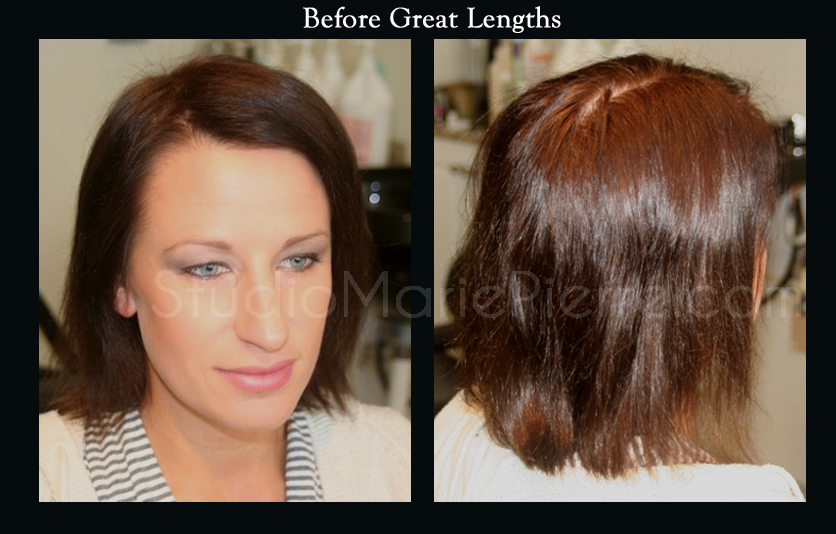 Great Lengths Hair Extensions Before And After Pictures Remy Hair