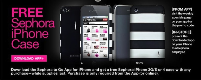 Tagged as:case,Coupons & Deals,Freebies,iPhone,iphone case,sephora.  More.  Download the Sephora to Go app...